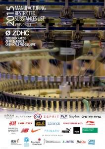 Zero Discharge of Hazardous Chemicals (ZDHC) ha ampliado recientemente su Listado de Sustancias Restringidas en la Fabricación (MRSL, en sus siglas en inglés)
