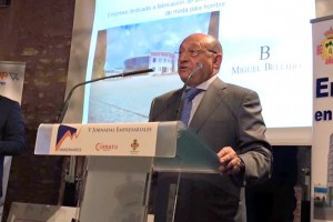 Miguel Bellido, premio a la Trayectoria Empresarial 2015