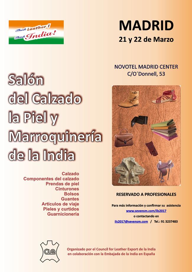Sal n del calzado la piel y la marroquiner a de la india for Direccion madrid espana