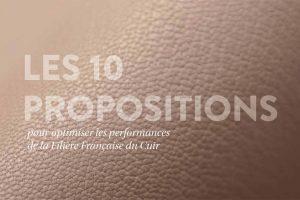 La industria francesa de la piel presenta su libro blanco