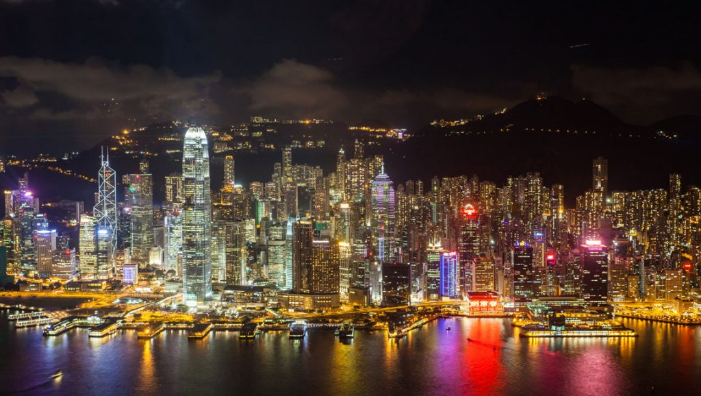 Puerto de Hong Kong. Creative Commons 3.0. Fuente: wikipedia.