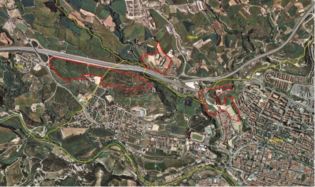 Futura localización del Parque de Innovación del Cuero y la Marroquinería.