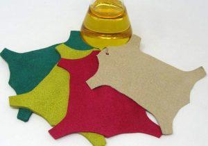 Citronela y pieles utilizadas en la fabricación de calzado.