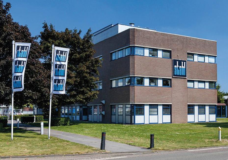 Sede de Stahl en los Países Bajos.