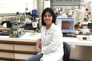 Elena Bañón, nueva responsable de la unidad de Curtidos de Inescop