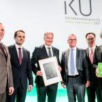 Entrega del premio Innovación alemana en Clima y Medioambiente 2017.