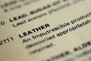 El diccionario, campo de batalla de la industria del cuero