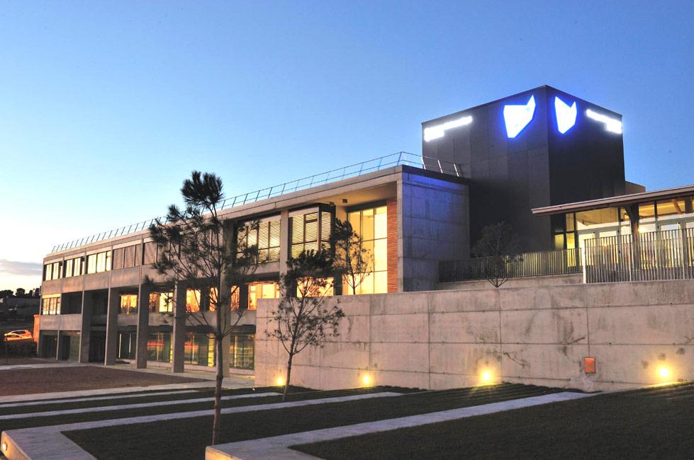 Campus de la Universidad de Lleida (UdL) en Igualada (Barcelona).