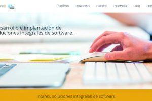 Intarex estrena página web