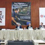 Presentación de las conclusiones de la auditoria para la seguridad laboral en la industria del curtido