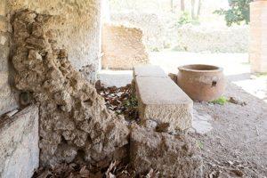 Proyecto para restaurar una antigua curtiduría en Pompeya