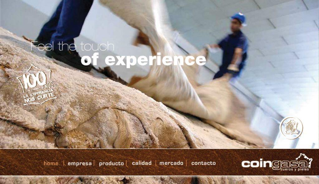 Web de Coingasa