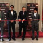 El embajador de la India en España en la inauguración de la feria.
