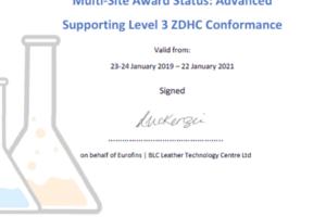 Lanxess certifica todos sus productos conforme al ZDHC