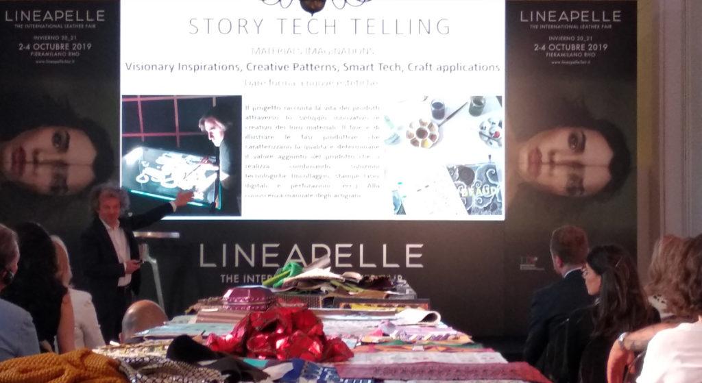 Presentación de StoryTechTelling en el consulado italiano de Madrid.