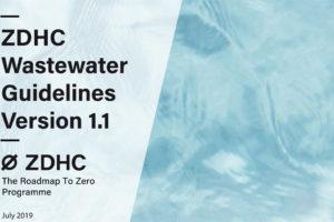 ZDHC actualiza su guía para la gestión de aguas residuales
