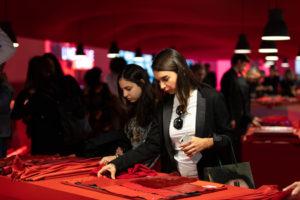 Lineapelle supera sus expectativas: un 2% más de visitantes