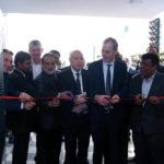 Inauguración del nuevo centro de excelencia de Stahl en Kanpur.