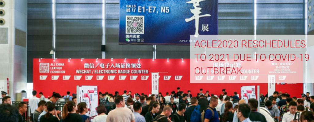 Cartel de suspensión de la edición de 2020 de ACLE.