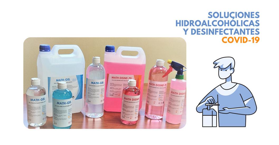 soluciones hidroalcohólicas