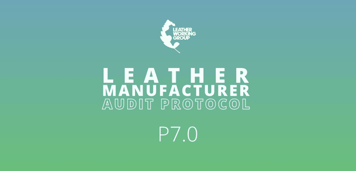 Leather Working Group protocolo 7.0.